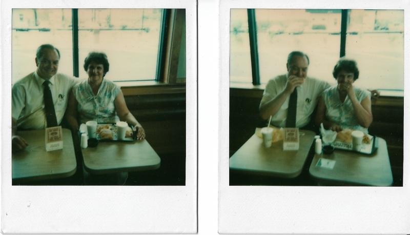Robert Joseph Reed and Norma Jean Hufford Dry Run Crew McDonald's 1980